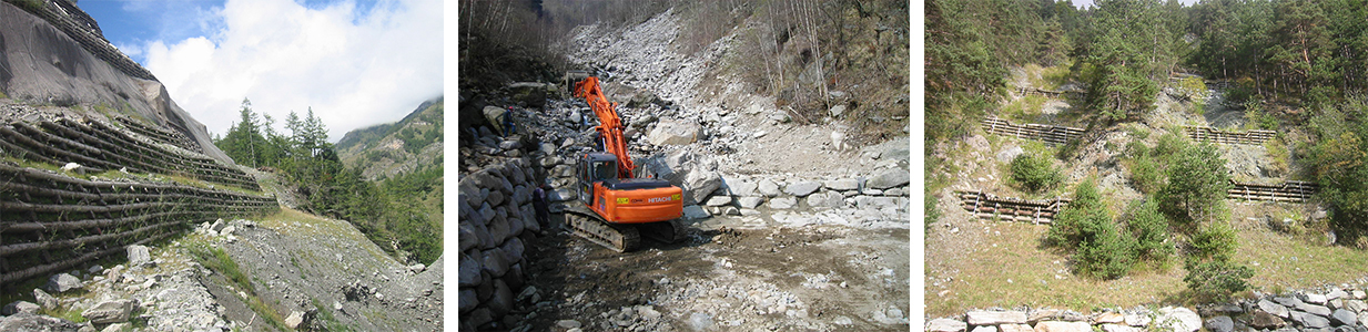 Interventi idrogeologici striscia