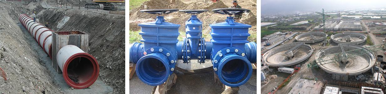 Sistemi idrici integrati striscia