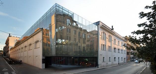 Ampliamento galleria comunale d arte moderna e for Architettura moderna e contemporanea