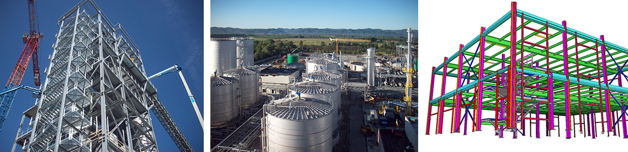 Impianti industriali striscia